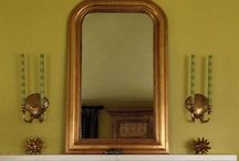 Louis Phillippe Mirror Love / I love Louis Phillippe mirrors, and have for many many years.  I just acquired my own reproduction (read about it here: http://goo.gl/gvz0gA), but am still searching for the perfect antique for my home.