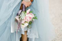 Powder blue weddings