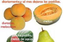 Frutas para presión alta