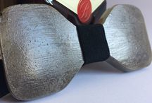 Concrete Bowties By Aludana / Unisex, woman or men Bowties... handmade concrete bowties made by Aludana :)