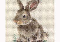 Stitching: cross stitch patterns