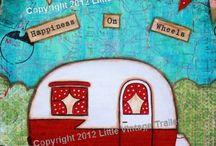 camping theme / by Vicki Hoffman