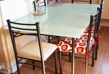 How to paint glass table