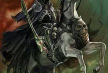 skulls and grim reaper