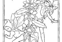 flower fairy - original