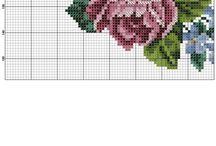 výšivka kvety