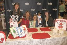 Book Signing Events / We sign books all over Canada.  Take a peek at some of the events we attended.