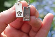 Silver clay jewellery
