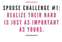 Spouse Challenges / 7 days of challenges to help you work on your marriage