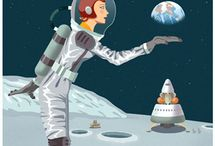 Spacey / by Melanie Formosa