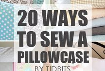 sew a pillowcase
