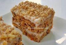havuçlu kek kremalı