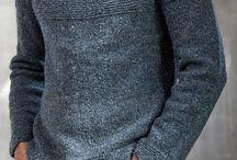 Men's knitting clothing