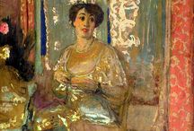 VUILLARD / The art of Eduard Vuillard - Post Impressionist ( and similar styles ) I love the loose paint work.