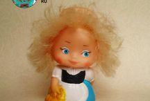 """я ПОИСК маленькая """"хитрая"""" кукла / Поиск игрушек, детских книг и настольных игр СССР - http://doska-obyavleniy-detstva.blogspot.ru/ (кукла, резиновая кукла, Литва, Прибалтика, оранжевая кожа, ноги колесом, маленькая куколка, иностранная кукла СССР)"""
