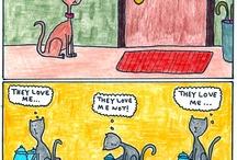 Comics / by Mary Huntsberry