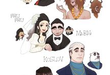 Humanized disney characters