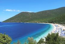 get salted in Kephalonia / feel free in the beach
