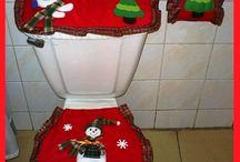 Juegos de baño navideños