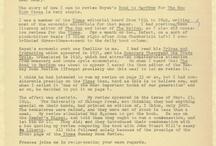 Correspondence / Correspondence to and from FEE staff members over the years, including letters from Ayn Rand, Rose Wilder Lane, Henry Hazlitt, Herbert Hoover, John Maynard Keynes, F. A. Hayek, John Wayne, Leon Trotsky, and more!