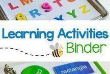 Toddler/preschool learning
