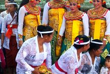 Dressing up for Balinese religious events