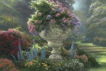 Art Thomas Kinkade / Painter of Light.so peaceful,so calming.