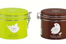 Løv Tea / Tea, gifts, tins and sachets