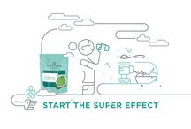 The Super Effect / Just a scoop, bite or handful of superfoods has amazing benefits for your mind and body. Adding them to your life sets into motion a chain of positivity all around you we call the super effect. You can start your own digital super effect right here by learning more about superfoods and sharing cheerful GIFs with friends. It's a great first step toward living life positive.