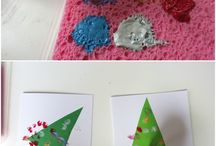 Toddler Christmas crafts / Toddler friendly, baby, Christmas, crafts