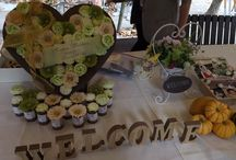 Outdoor Wedding Oct 17th,2015 / Welcome to our WEDDING PARTY!