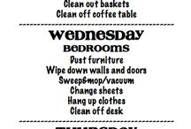 ~Organizing and cleaning tips~  / by ★Angeleyez★