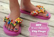Flip flops / by Chanda Winegar