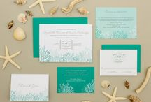 Beach Wedding Stationary