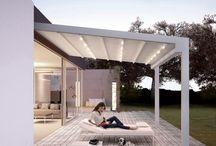 Terrassenabdeckung