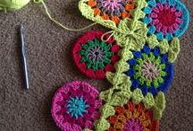 continious crochet join together