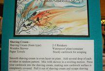 Shaving Cream Cards