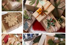 Öko karacsonyi csomagolas / eco-friendly christmas gift wrapping