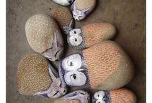Stone, clay