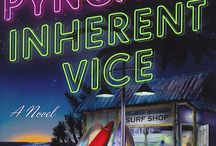 Inherent Vice / Thomas Pynchon finally hits the big screen with the release of Paul Thomas Anderson's adaptation of Inherent Vice. Here we bring together the images, the music, the fashion, the hair!! It's all kinds of groovy. / by Vintage Classics
