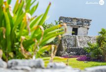 DWE in Tulum Ruins / Group Travel to Tulum, one of the most picturesque archaeological site in the Riviera Maya. Captured by Timeless by Tiffany Photography.