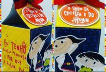 FESTA SHOW DA LUNA / Personalizados Show da Luna