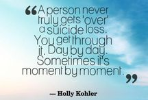 Suicide, Grief, and Hope...
