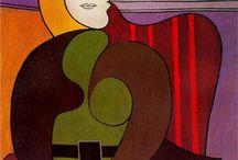 @Picasso Cubisme Synthetique