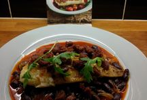 Fish Dishes / Baked Cod in a Chorizo Broth