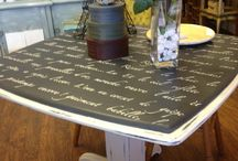 Chalk Paint® Graphite / Furniture and items painted with Chalk Paint® in color Graphite