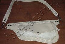 Deri Bel Çantası 2--Leather Waist Bag 2