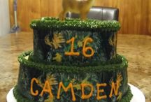 Camoflauge Cakes  / by Kristen Garner