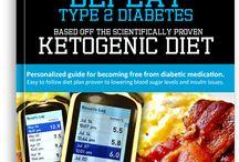 Diabetes Diet - How to Lower Blood Sugar / Learn how to lower your blood sugar to control and beat type 2 diabetes using a ketogenic diet. #diabetes #keto #ketogenic #blood #sugar #glucose #lower