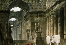 Roman & Old Ruins Paintings